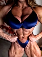Big Sexy Muscle Babe